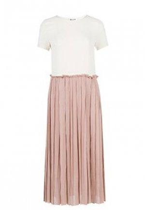 Платье SEMICOUTURE. Цвет: розовый