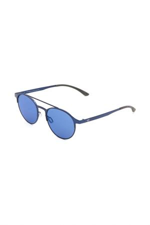 Очки солнцезащитные с линзами adidas. Цвет: 022 gls синий