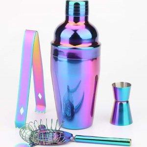 1 набор Инструмент для приготовления коктейлей из нержавеющей стали SHEIN. Цвет: многоцветный