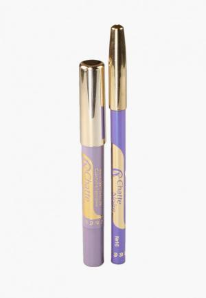 Набор для макияжа глаз Chatte Noire Карандаш * Карандаш-тени №65 3,21. Цвет: фиолетовый