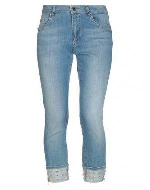 Джинсовые брюки 22 MAGGIO by MARIA GRAZIA SEVERI. Цвет: синий