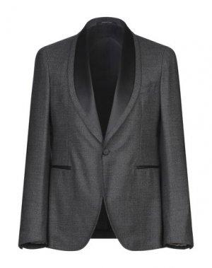 Пиджак PINO LERARIO. Цвет: стальной серый