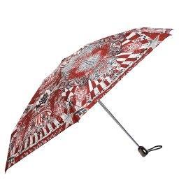 Зонт полуавтомат 1265 BIS темно-красный JEAN PAUL GAULTIER
