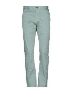 Повседневные брюки IUTER. Цвет: зеленый-милитари