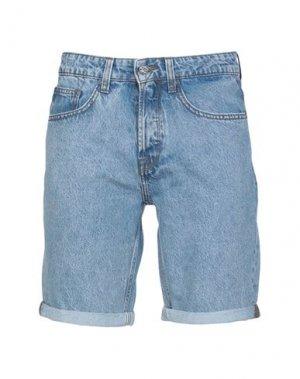 Джинсовые шорты ONLY & SONS. Цвет: синий