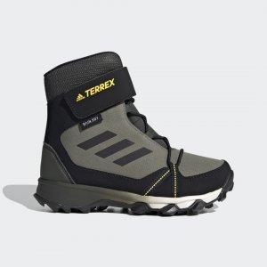 Ботинки TERREX Snow CF CP CW adidas. Цвет: черный