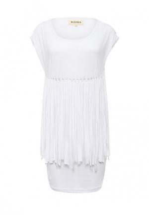 Платье Desires. Цвет: белый