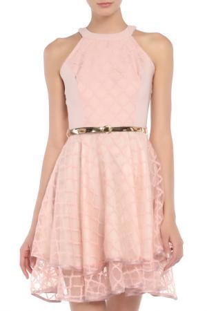 Платье Fervente. Цвет: пудра