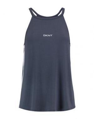 Бельевая майка DKNY. Цвет: свинцово-серый