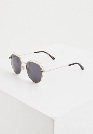 Очки солнцезащитные Jimmy Choo FRANNY/S J5G. Цвет: золотой