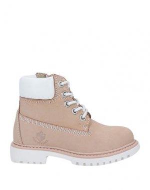 Полусапоги и высокие ботинки LUMBERJACK. Цвет: розовый
