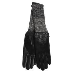 Перчатки CECILIA/AGNSUED/W черный AGNELLE