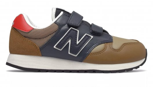 Кроссовки 520 New Balance. Цвет: коричневый
