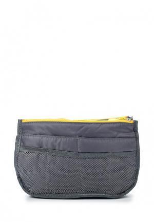 Органайзер для сумки Homsu Chelsy. Цвет: серый