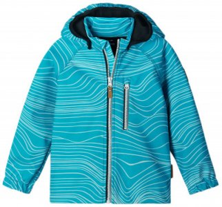 Куртка софтшелл для девочек Vantti, размер 134 Reima. Цвет: голубой