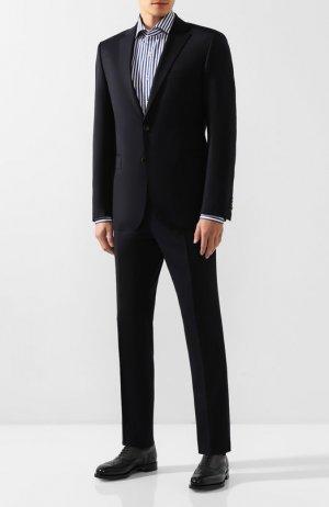 Шерстяной костюм Windsor. Цвет: синий