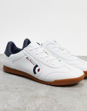 Кроссовки в стиле ретро -Белый Ben Sherman