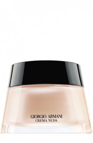 Увлажняющий крем для лица с тональным эффектом, оттенок 1 Giorgio Armani. Цвет: бесцветный