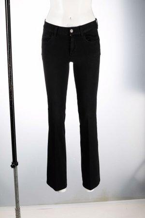 Расклешенные брюки со складками LIU JO. Цвет: черный