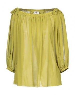 Блузка B.YU. Цвет: кислотно-зеленый