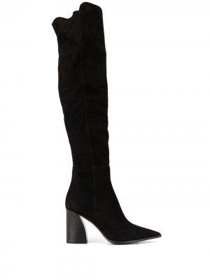 Ботфорты на каблуке Premiata. Цвет: черный