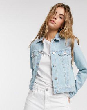 Джинсовая куртка -Синий Miss Selfridge