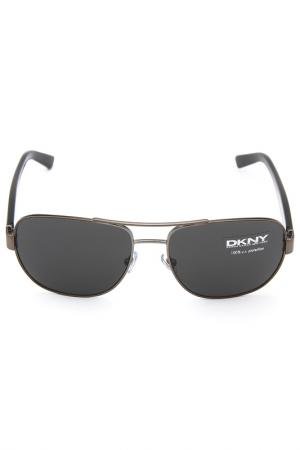 Очки солнцезащитные DKNY. Цвет: 101487