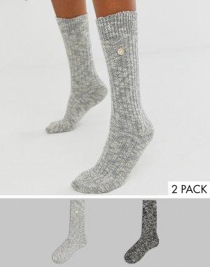 Подарочный набор из 2 пар хлопковых носков -Серый Birkenstock