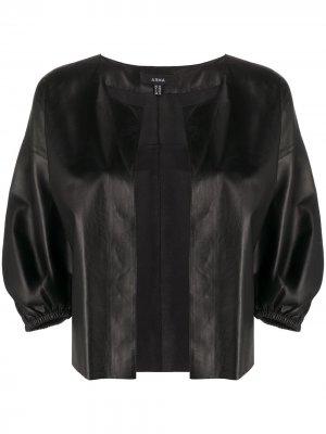 Куртка Madee без застежки Arma. Цвет: черный