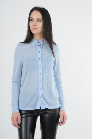 Блузка Concept Club. Цвет: голубой