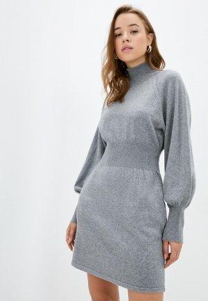 Платье Francesco Donni. Цвет: серый