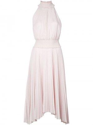 Расклешенное платье миди без рукавов A.L.C.