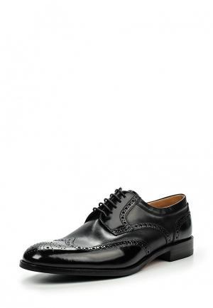 Туфли Loake LO026AMIRX13. Цвет: черный