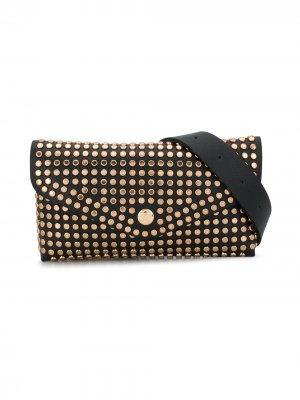 Studded shoulder bag Miss Blumarine. Цвет: черный