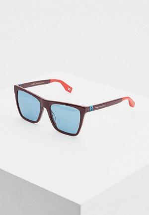 Очки солнцезащитные Marc Jacobs 349/S LHF. Цвет: бордовый