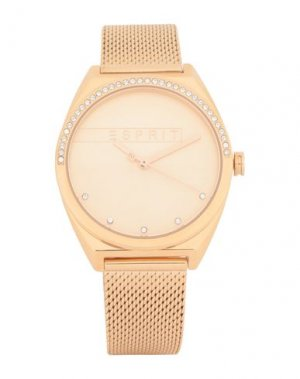 Наручные часы ESPRIT. Цвет: золотистый
