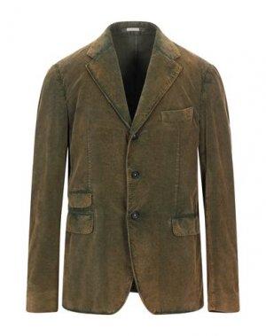 Пиджак MASSIMO ALBA. Цвет: охра