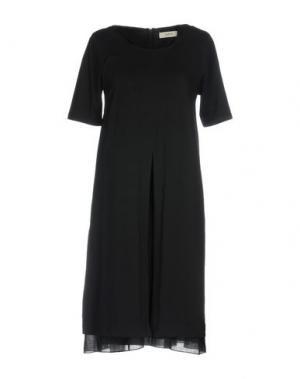 Короткое платье ALPHA STUDIO. Цвет: черный
