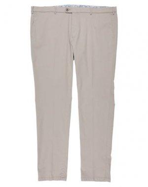 Повседневные брюки BUGATTI. Цвет: светло-серый