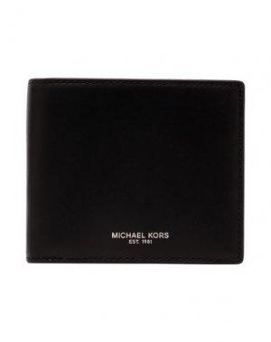 Бумажник MICHAEL KORS MENS. Цвет: черный