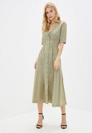 Платье Elena Andriadi. Цвет: желтый