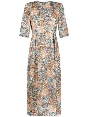 Платье Stromobli F с пайетками Antonio Marras. Цвет: нейтральные цвета