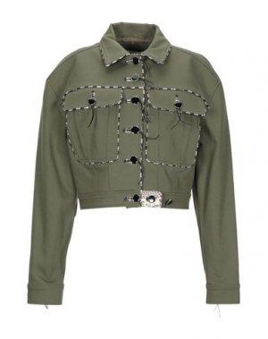 Куртка ALTUZARRA. Цвет: зеленый-милитари