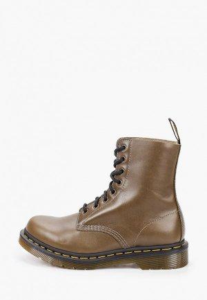 Ботинки Dr. Martens 1460 Pascal-8 Eye Boot. Цвет: хаки