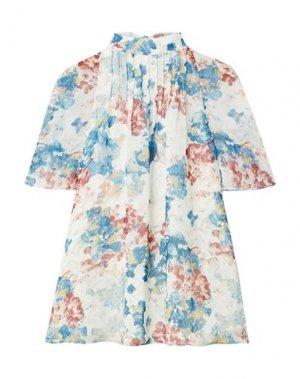 Блузка ARIAS. Цвет: пастельно-синий
