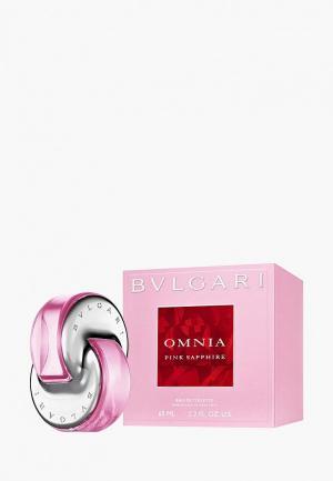 Туалетная вода Bvlgari Omnia Pink Sapphire, 65 мл. Цвет: прозрачный