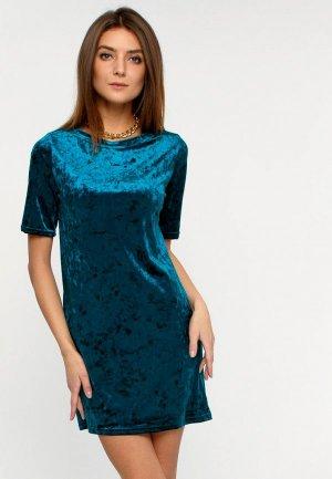 Платье Апрель. Цвет: бирюзовый
