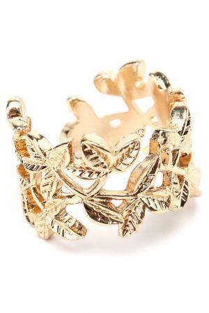 Кольцо Diva. Цвет: золотой