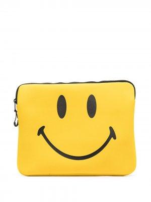 Сумка для ноутбука с логотипом Chinatown Market. Цвет: желтый