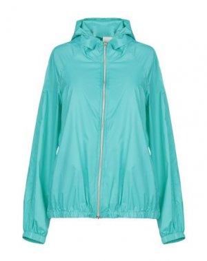 Куртка MANUELA CONTI. Цвет: бирюзовый